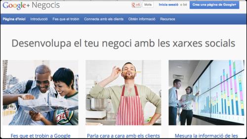 Google+Negocis