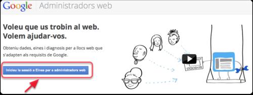 Administradors web Google