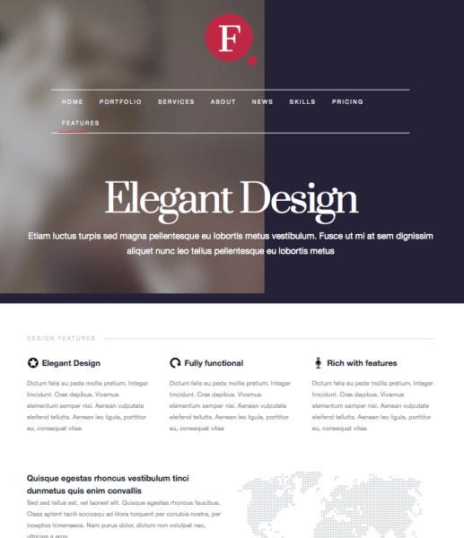 Finale WordPress Theme