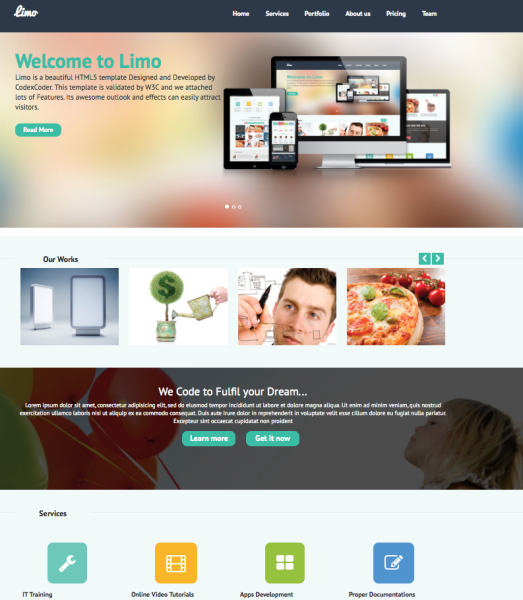 Limo WordPress Theme