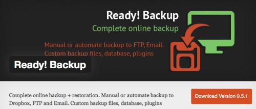 Extensió Ready-backup