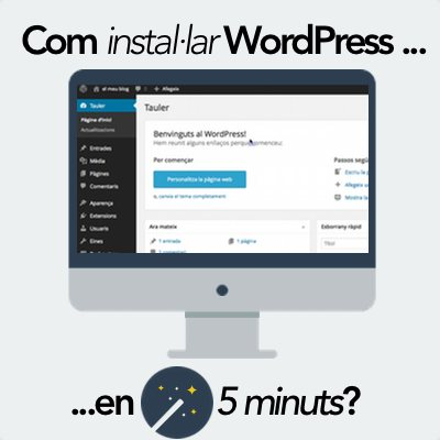 Com instal·lar WordPress