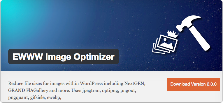 wordpress ewww image optimizer plugin