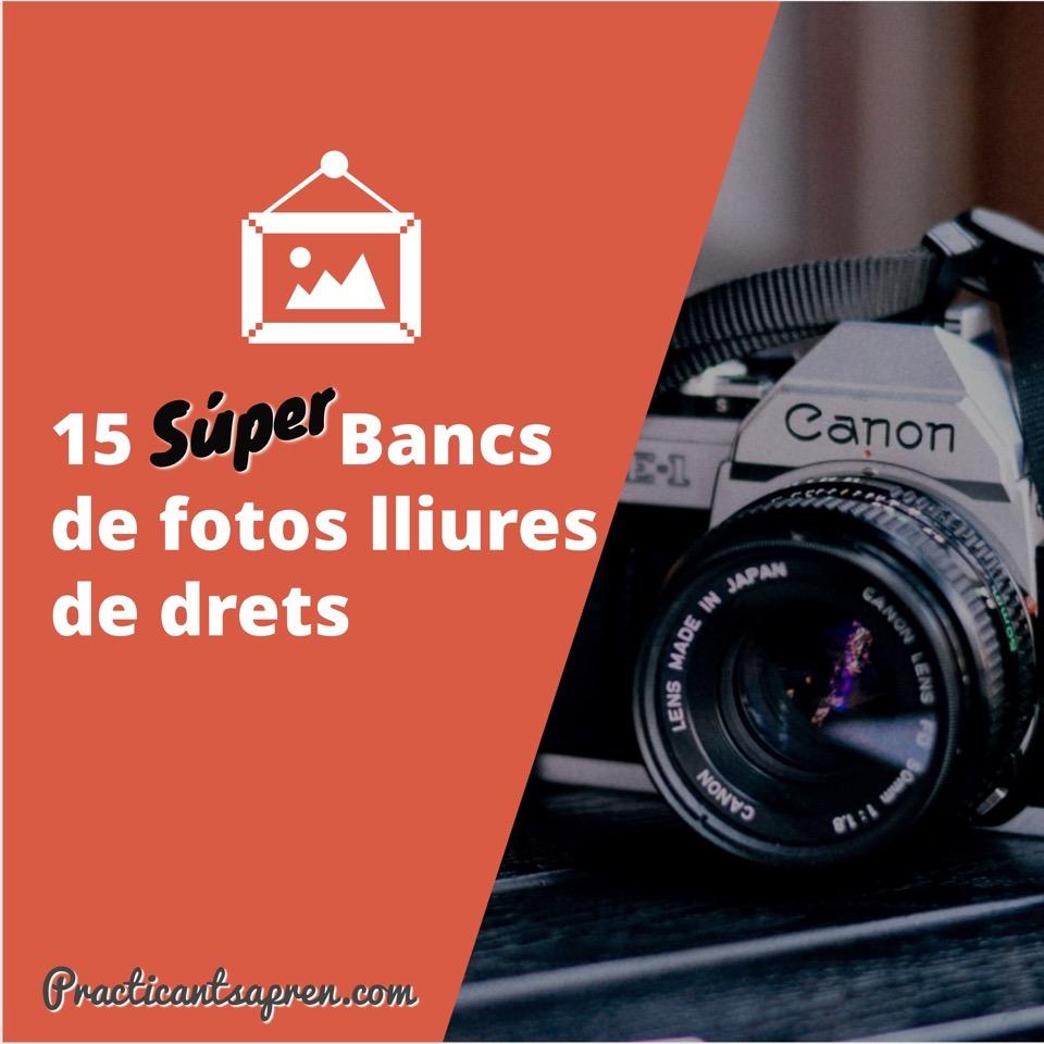 15 bancs fotos lliures drets