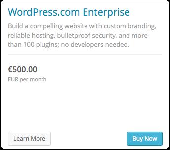wordpress enterprise