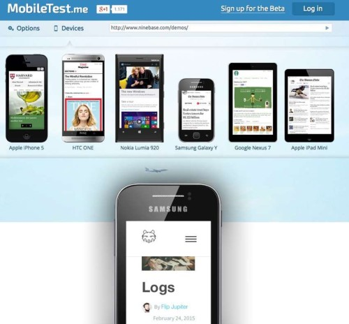temes mobile friendly mobiletest
