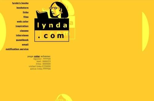 lloc web lynda.com al 1998