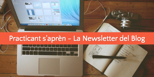 nova newsletter del blog