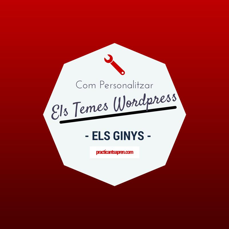 Com Personalitzar Els Ginys WordPress
