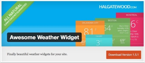 awesome-weather-widget 2
