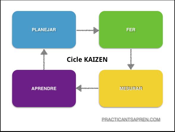 cicle de millra kaizen a practicantsapren
