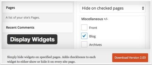 display-widgets 2