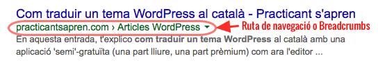 Rutes navegacio wordpress yoast seo2
