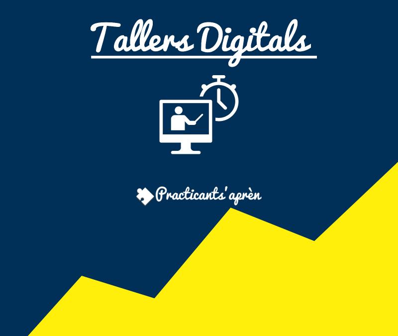 Estrena els Tallers d'orientació digital PracticantSapren!